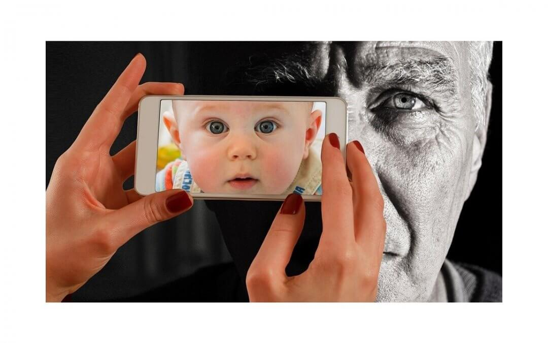 baby & elder to show how to Engage Multiple Generations
